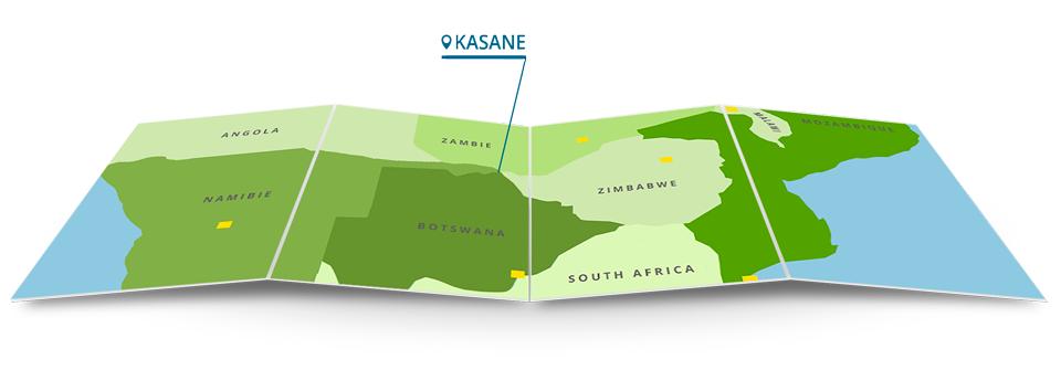 Kasane au Botswana