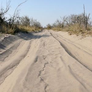 Le sable profond