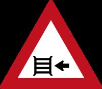 Pont sur la gauche