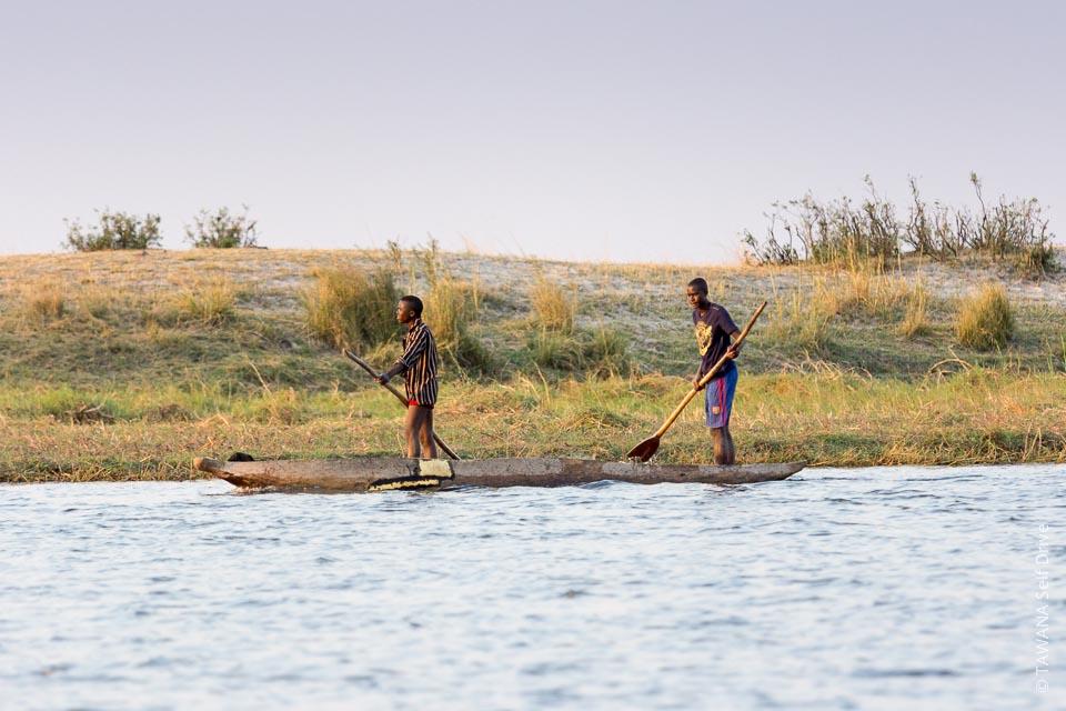 Visiter Chobe : partie de pêche sur la rivière