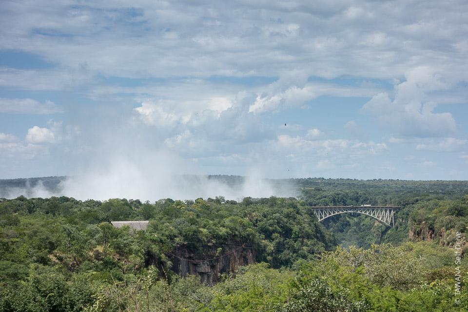 Chutes Victoria au Zimbabwe