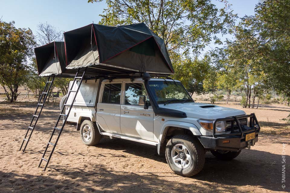 Land Cruiser équipé camping au service de vos plus beaux safaris !