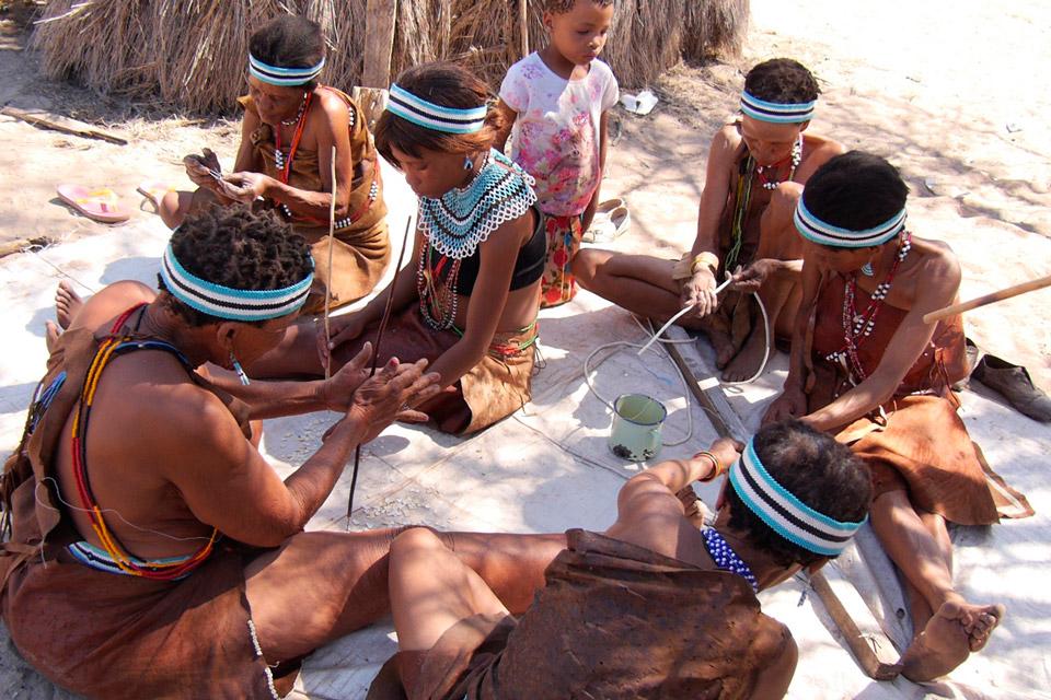 Aventure en self drive au Botswana : Ghanzi et la culture San