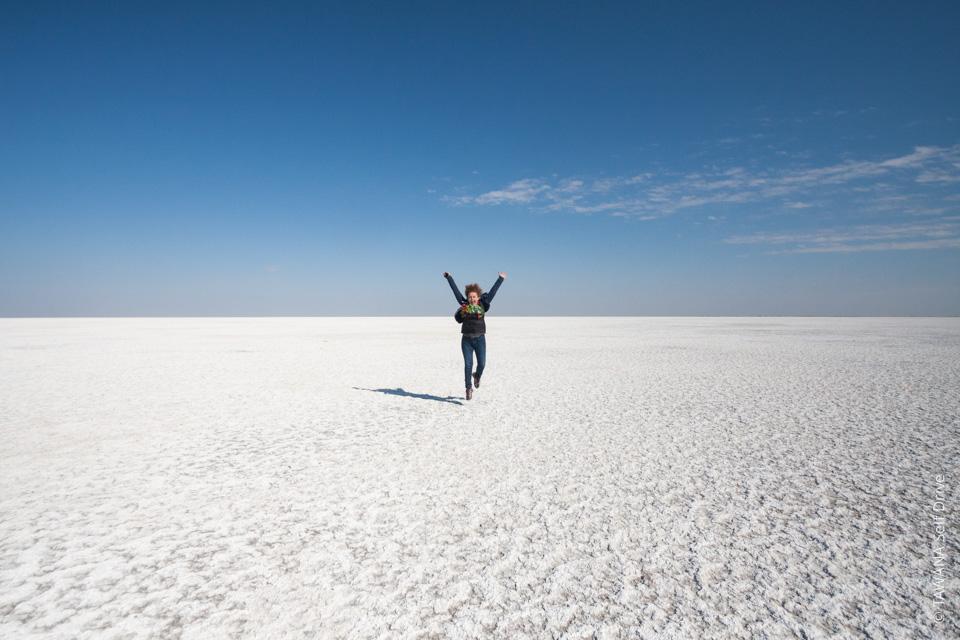 Aventure en self drive au Botswana : visite de Ntwetwe Pan