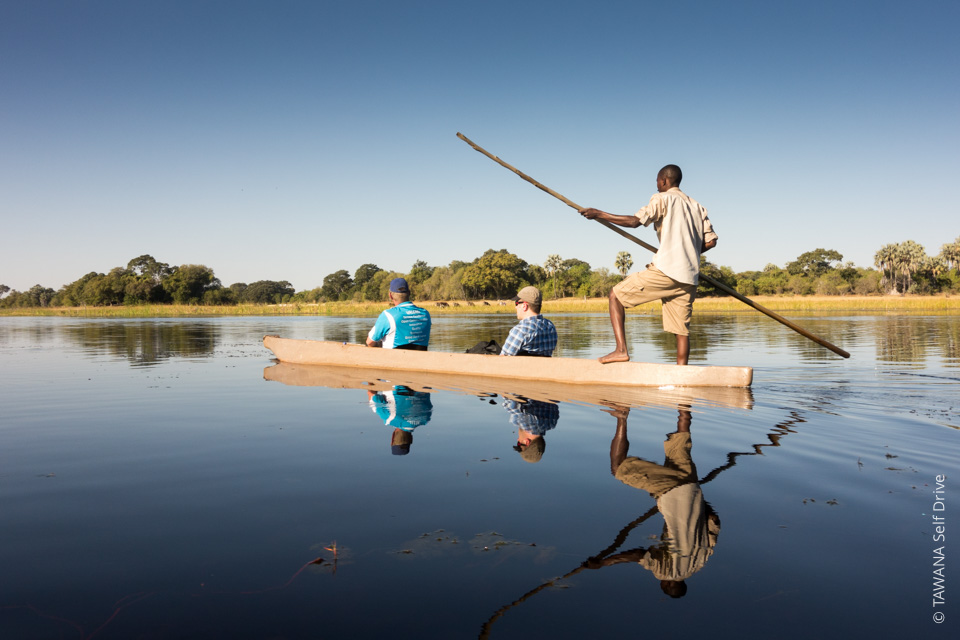 4x4 self-drive itinerary Botswana: Maun