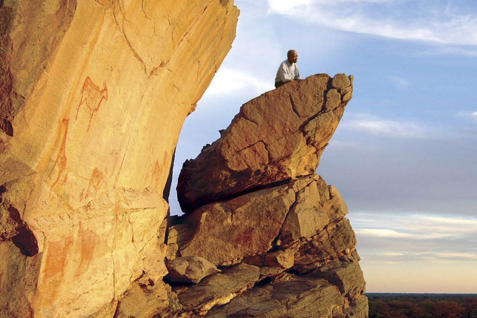 4x4 self-drive itinerary Botswana: Tsodilo Hills