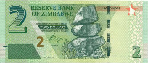 situation économique du zimbabwe en 2019 : bond note