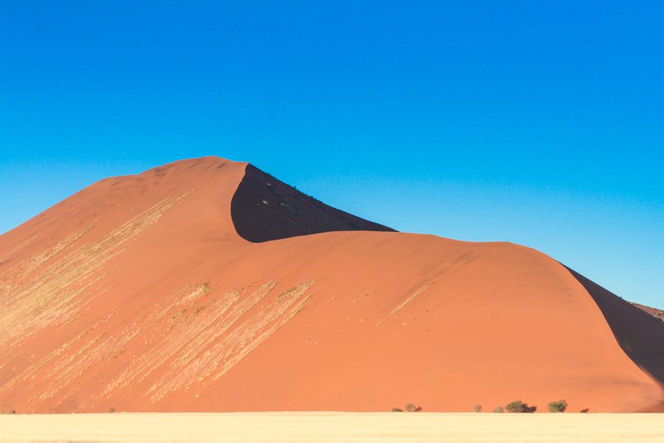 Itinéraire self drive en Namibie : Dunes de Sossuslvei