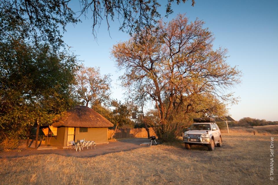 Camping de Nkasa Rupara (Caprivi, Namibie)