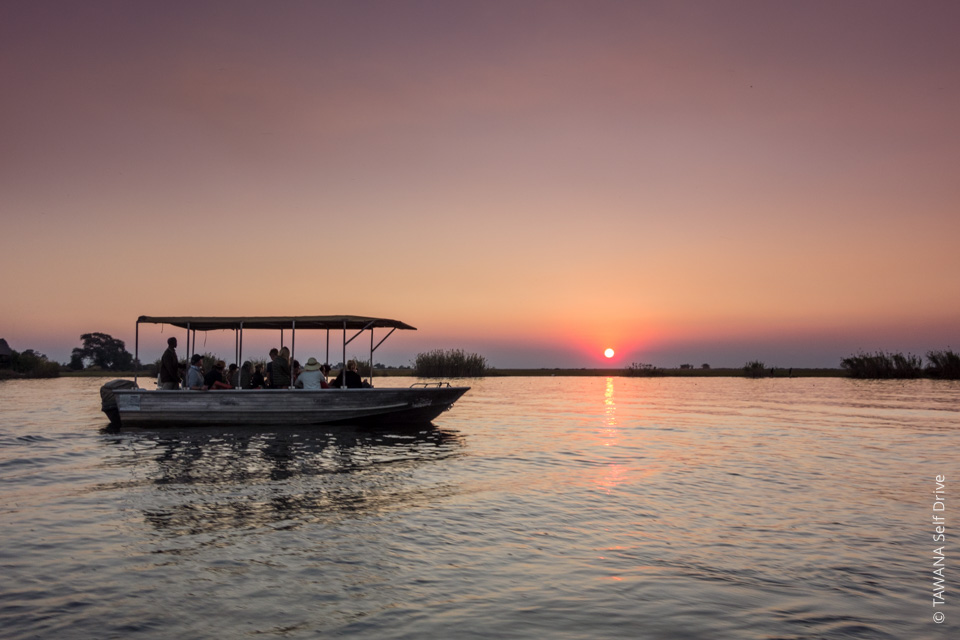 Road trip in Botswana and Namibia: the Chobe River