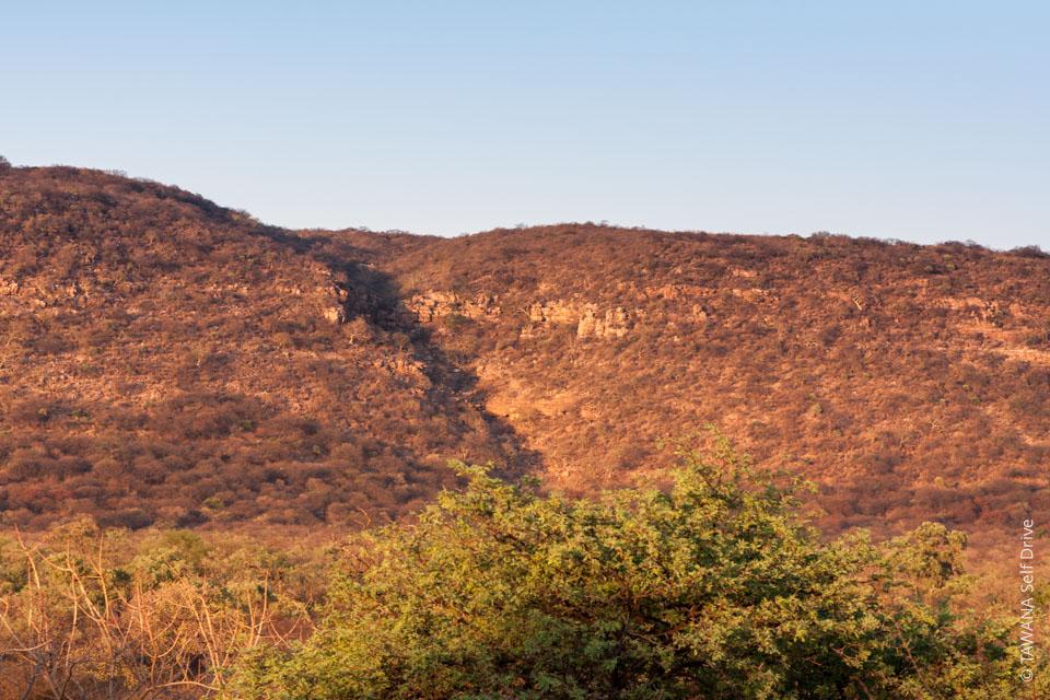 Cascades de Goo-Moremi au Botswana