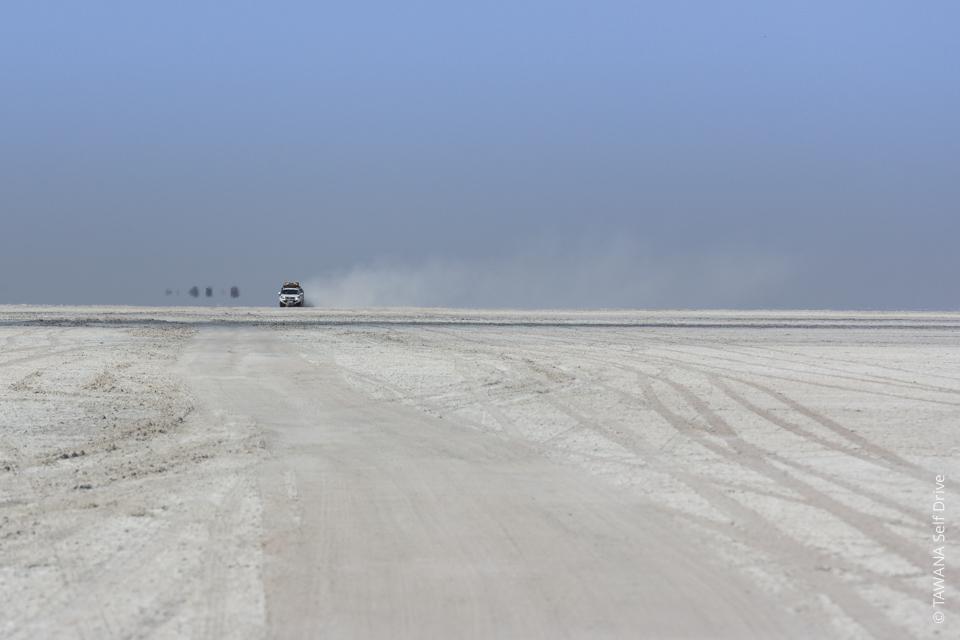 Désert du Kalahari en 4x4 self drive : pans de Makgadikgadi