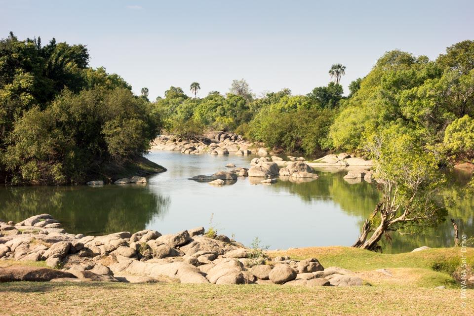 Itinéraire self drive en Zambie : rivière Kafue