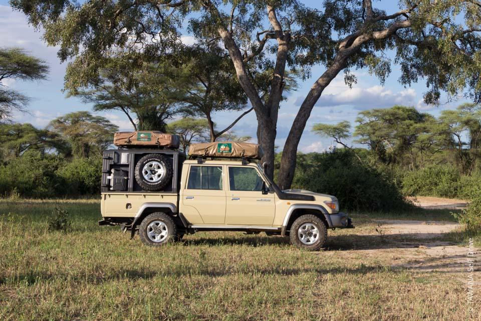 Land Cruiser équipé camping